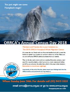 ORRCA's Census Day