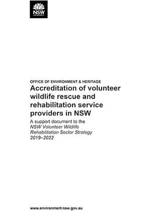 fba5da8518cc4b A support document to the NSW Volunteer Wildlife Rehabilitation Sector  Strategy 2019–2022